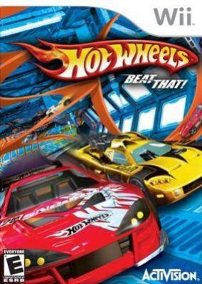 Immagine della copertina del gioco Hot Wheels Beat That! per Nintendo Wii