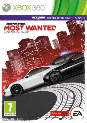 Copertina del gioco Need for Speed: Most Wanted per Xbox 360