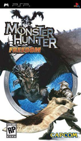 Immagine della copertina del gioco Monster Hunter Freedom per PlayStation PSP