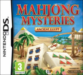 Copertina del gioco Mahjong Mysteries - Ancient Egypt per Nintendo DS