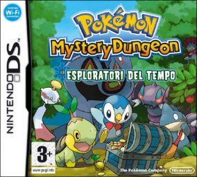 Immagine della copertina del gioco Pokemon Mystery Dungeon: Esploratori del Tempo per Nintendo DS