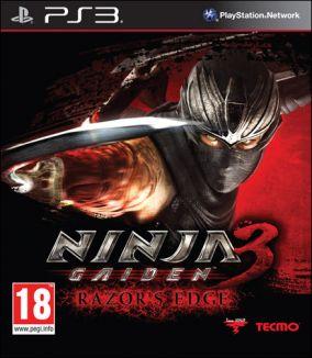 Copertina del gioco Ninja Gaiden 3: Razor's Edge per PlayStation 3