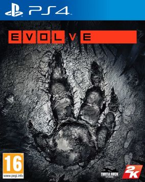 Immagine della copertina del gioco Evolve per Playstation 4