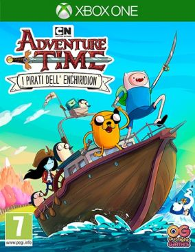 Copertina del gioco Adventure Time: i Pirati dell'Enchiridion per Xbox One
