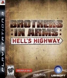 Copertina del gioco Brothers in Arms Hell's Highway per PlayStation 3