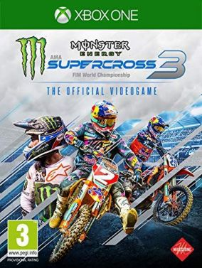 Copertina del gioco Monster Energy Supercross - The Official Videogame 3 per Xbox One