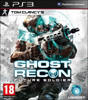 Copertina del gioco Ghost Recon: Future Soldier per PlayStation 3