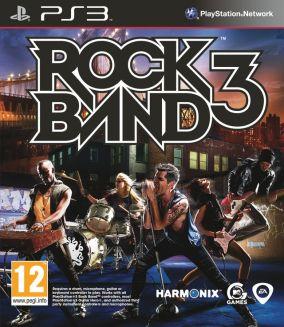 Copertina del gioco Rock Band 3 per PlayStation 3