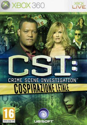 Copertina del gioco CSI: Cospirazione Letale per Xbox 360