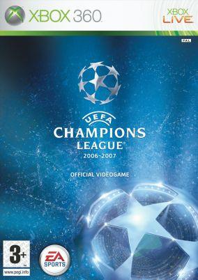 Copertina del gioco UEFA Champions League 2006-2007 per Xbox 360