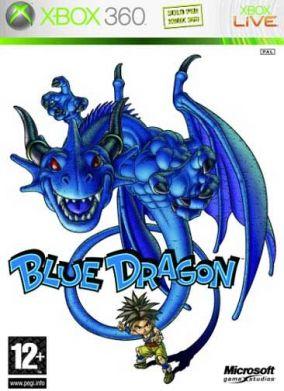 Copertina del gioco Blue Dragon per Xbox 360