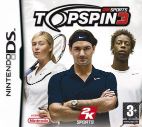 Immagine della copertina del gioco Top Spin 3 per Nintendo DS