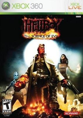 Copertina del gioco Hellboy: The Science of Evil per Xbox 360