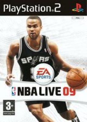 Copertina del gioco NBA Live 09   per PlayStation 2