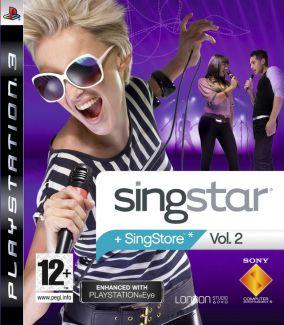 Immagine della copertina del gioco SingStar Vol. 2 per PlayStation 3