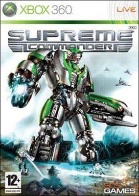 Copertina del gioco Supreme Commander per Xbox 360