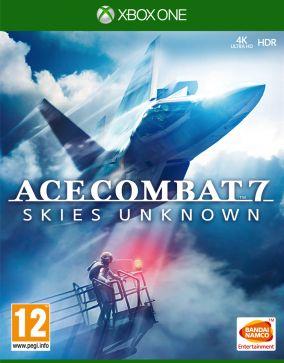 Immagine della copertina del gioco Ace Combat 7: Skies Unknown per Xbox One