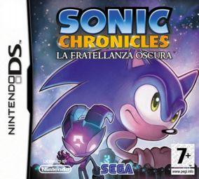 Immagine della copertina del gioco Sonic Chronicles: La Fratellanza Oscura per Nintendo DS