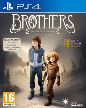 Copertina del gioco Brothers: A Tale of Two Sons per PlayStation 4