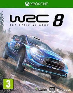 Copertina del gioco WRC 8 per Xbox One