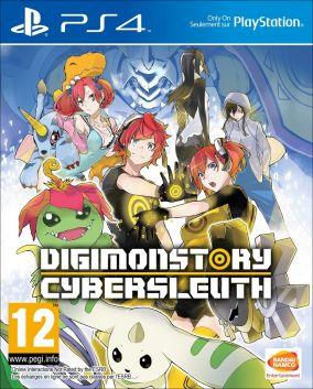 Immagine della copertina del gioco Digimon Story: Cyber Sleuth - Hacker's Memory per PlayStation 4
