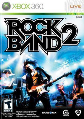 Copertina del gioco Rock Band 2 per Xbox 360