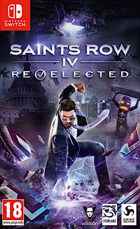 Copertina del gioco Saints Row IV: Re-Elected per Nintendo Switch