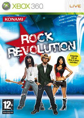 Immagine della copertina del gioco Rock Revolution per Xbox 360