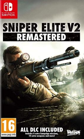 Copertina del gioco Sniper Elite V2 Remastered per Nintendo Switch