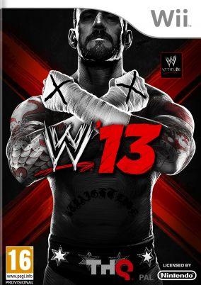 Copertina del gioco WWE 13 per Nintendo Wii