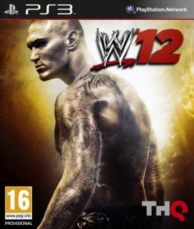 Copertina del gioco WWE 12 per PlayStation 3