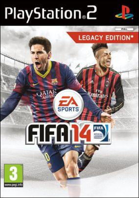 Immagine della copertina del gioco FIFA 14 per PlayStation 2