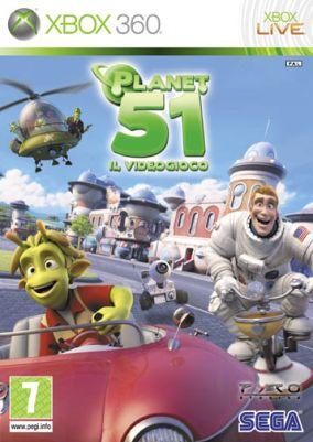 Immagine della copertina del gioco Planet 51 per Xbox 360