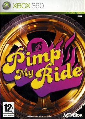 Copertina del gioco Pimp my Ride per Xbox 360