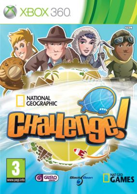 Copertina del gioco National Geographic Challenge! per Xbox 360