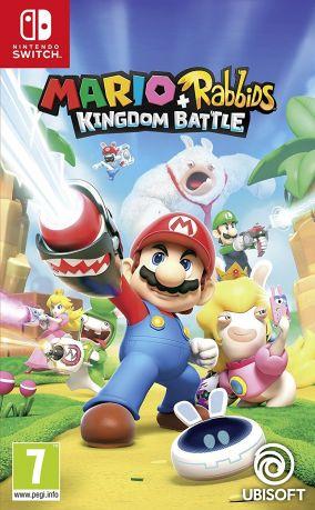 Copertina del gioco Mario + Rabbids Kingdom Battle per Nintendo Switch
