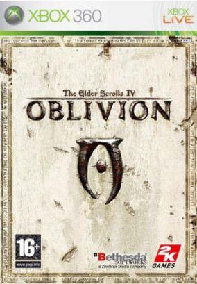 Copertina del gioco The Elder Scrolls IV: Oblivion per Xbox 360