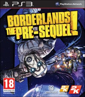 Copertina del gioco Borderlands: The Pre-Sequel per PlayStation 3