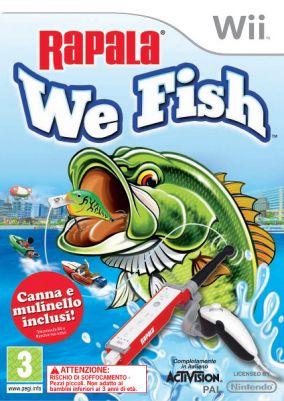 Immagine della copertina del gioco Rapala: We Fish per Nintendo Wii