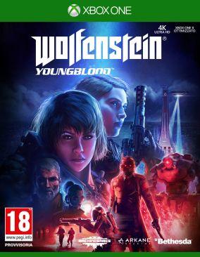 Immagine della copertina del gioco Wolfenstein: Youngblood per Xbox One