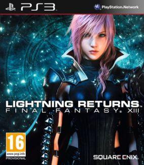 Copertina del gioco Lightning Returns: Final Fantasy XIII per PlayStation 3