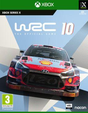 Copertina del gioco WRC 10 per Xbox Series X