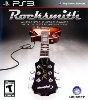 Copertina del gioco Rocksmith per PlayStation 3