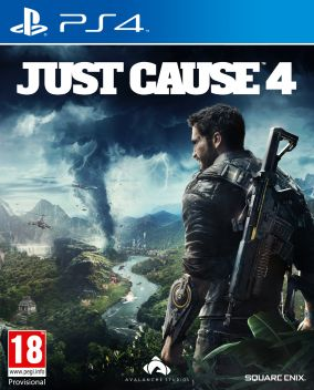 Copertina del gioco Just Cause 4 per PlayStation 4