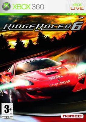 Copertina del gioco Ridge Racer 6 per Xbox 360