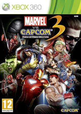 Copertina del gioco Marvel vs. Capcom 3: Fate of Two Worlds per Xbox 360