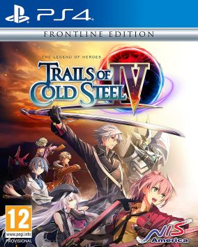 Copertina del gioco The Legend of Heroes: Trails of Cold Steel IV per PlayStation 4