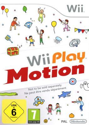 Immagine della copertina del gioco Wii Play Motion per Nintendo Wii