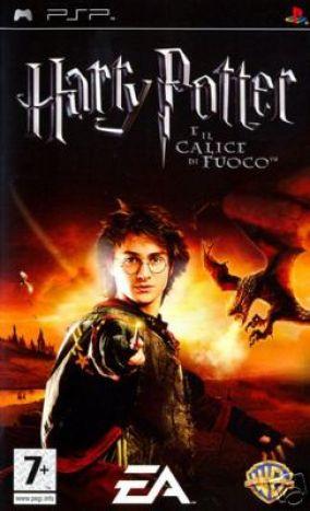 Immagine della copertina del gioco Harry Potter e il calice di fuoco per PlayStation PSP
