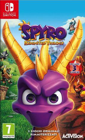 Copertina del gioco Spyro Reignited Trilogy per Nintendo Switch